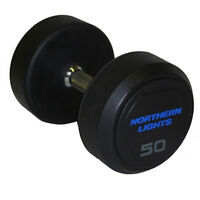 Rubber Covered Fixed Solid Dumbbells (5-120 lbs.) DFNLLR
