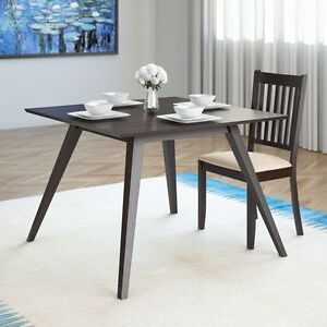 """Atwood 42"""" Wide Cappuccino Stained Dining Table"""