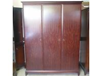Stag Minstrel Three Door Wardrobe