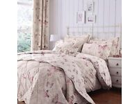 Dunelm Botanica Butterfly Bed Set & Curtains