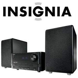 NEW INSIGNIA MINI CD HIFI SYSTEM WITH BLUETOOTH