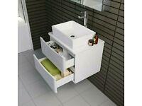 Vanity/storage unit for bathroom sink
