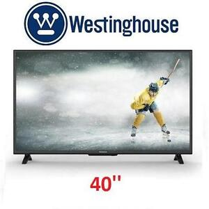 "NEW OB WESTINGHOUSE 40"" SMART HDTV 1080P - FULL HD SMART TV - 40 INCH TELEVISION 101704029"