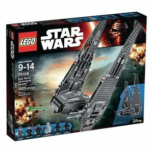 Star Wars Lego Kylo Ren Command Shuttle 75154 New