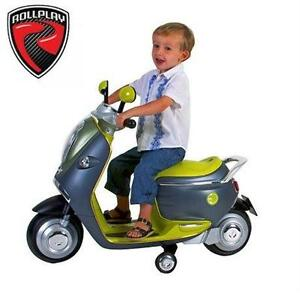 NEW ROLLPLAY 6V MINI E-SCOOTER SCOOTER - RIDE ON - RIDE-ON TOY INDOOR Outdoor Play  79254860