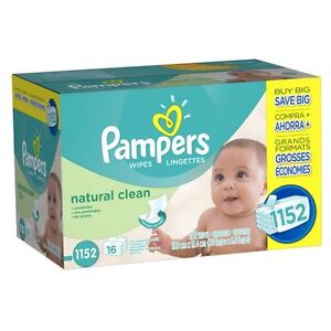 Brand new Pampers Wipes