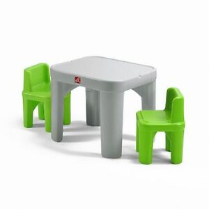 STEP2 MIGHTY MY SIZE TABLE AND 2 CHAIRS - NEW