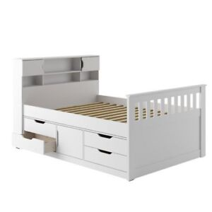 Brand new still in boxes double storage bed