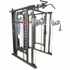Northern Lights Functional Trainer / Smith Combo. Comme neuve,