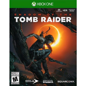Shadow of the Tomb Raider for Xbox One in Mint Condition $40