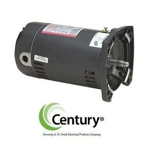 NEW CENTURY 1HP POOL PUMP MOTOR SQUARE FLANGE - 3450 RPM - A.O. SMITH Patio lawn garden hot tub supplies equipment