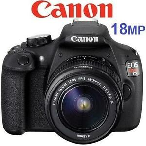 NEW CANON EOS REBEL T5 CAMERA - 115745527 - DSLR DIGITAL CAMERA 18MP W/ 18-55mm LENS KIT  PHOTOGRAPHY