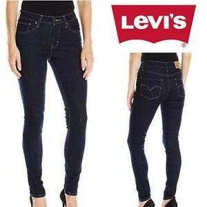 NEW LEVIS JEANS WOMENS 27x30 188820023 247478909 721 HIGH RISE SKINNY CAST SHADOWS