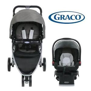 USED GRACO PACE TRAVEL SYSTEM 199281705 CLICK CONNECT BABY