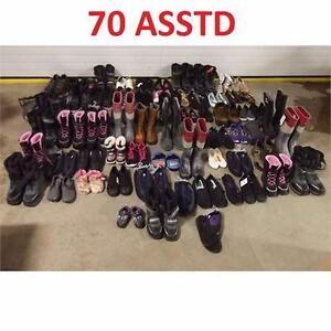 70 ASSTD SHOES FOOTWEAR LOT RETAIL RESALE RESELL BUSINESS STORE RETURNS 98687229