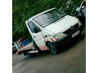 MERCEDES SPRINTER 311 CDI RECOVERY TRUCK 3.5 TONN WITH RAMPS & WINCH
