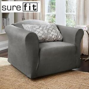 NEW SUREFIT CHAIR SLIPCOVER HARLOW STRETCH HOME HOUSE FURNITURE 102202426