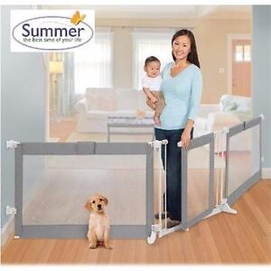 NEW SUMMER INFANT CUSTOM FIT GATE   CUSTOM FIT GATE IN GRAY - INFANT BABY SAFETY HOME  92938575