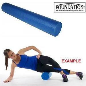 "NEW FOUNDATION FOAM ROLLER 36"" 6x6"" - BOX OF 12 - YOGA FITNESS SPORTS MASSAGE THERAPY Exercise Fitness Balance Trainers"