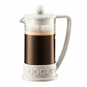 NEW Bodum Bistro French Press off-white $30