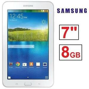 """NEW OB SAMSUNG GALAXY TAB E LITE ANDROID TABLET - 7"""" - WIFI - WHITE 106304979"""