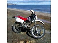 Honda XLR 125 01. SWAP R PX FOR TWO STROKE