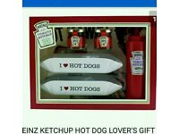 2 hot dog gift sets brand new
