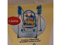 Fisher price musical rocking swing