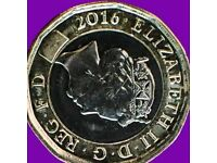 New £1 2016 Coin