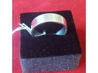 Silver ring size O