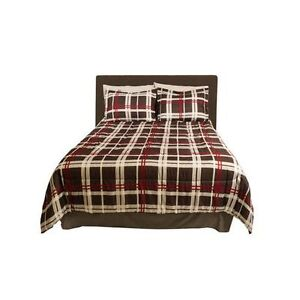 *NEW*Bed-in-a-Bag – Black Plaid