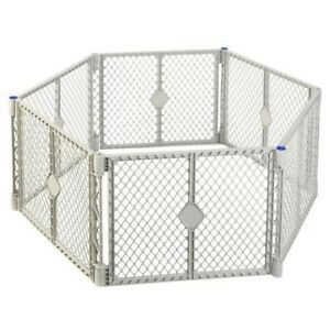 North States Super Yard XT gates, 6 panels