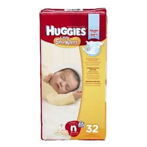 COUCHES HUGGIES (WIPES/DIAPERS)