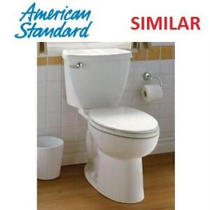 NEW AMERICAN STANDARD 2PC TOILET 3717D.001.020 225155488 CADET 3 FLOWISE 1.28GPF WHITE