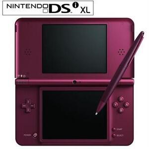 NEW NINTENDO DSI XL BURGUNDY Video Games › Nintendo DS › Consoles