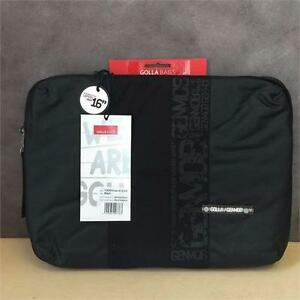 "NEW, Genuine Golla G1316 16"" Laptop Sleeve (Black)"