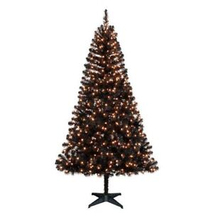 Holiday time 6.5' Madison™ Black Pine Christmas Tree with Clear