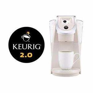 NEW KEURIG K200 COFFEE BREWER   Keurig 117602 2.0 K200 Brewer, Sandy Pearl COFFEE MAKER   84569687