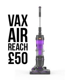 Free delivery vax Reach air bagless upright vacuum cleaner RRP £189