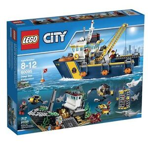 LEGO 60095 City Deep Sea Exploration Deep Sea Exploration Vessel