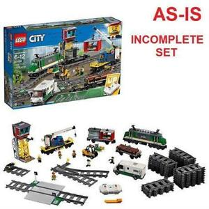 AS-IS LEGO CITY CARGO TRAIN SET