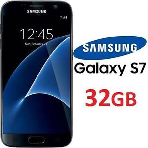 REFURB SAMSUNG GALAXY S7 SMARTPHONE SMART PHONE S7 CDMA/LTE 32GB CELL PHONE REFURBISHED PRODUCT BLACK ONYX 102144943