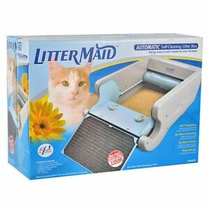 Littermaid self cleaning cat litter box