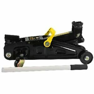 NEW BLACK JACK HYDRAULIC TROLLEY JACK WITH JACK STAND