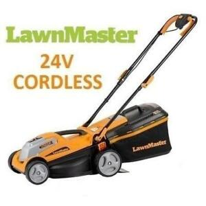 NEW* LAWNMASTER 14 24V MOWER CLMF2413G 250228277 CORDLESS ELECTRIC 2 IN 1 LAWNMOWER