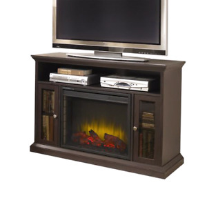 Electric fireplace/ entertainment stand
