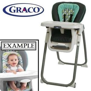 OB GRACO TABLEFIT HIGH CHAIR 1901625 191287238 BOTANY COLLECTION BROWN GREEN HIGHCHAIR NURSING OPEN BOX