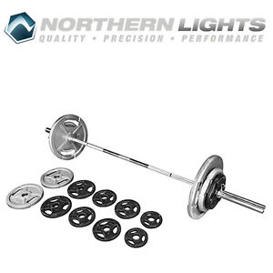 Northern Lights 295lb Olympic Weight Set ZK295WPOSET