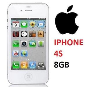NEW APPLE IPHONE 4S 8GB LOCKED WHITE - CELL PHONE - SMARTPHONE SMART PHONE 74769692