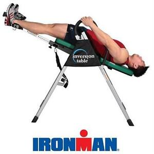 NEW IRONMAN GRAVITY INVERSION TABLE FITNESS - EXERCISE - STRETCH
